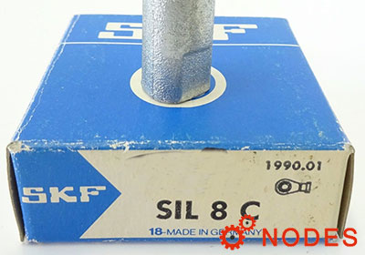 SKF SIL8C rod ends | d:8mm, d2:25mm, l4:50mm