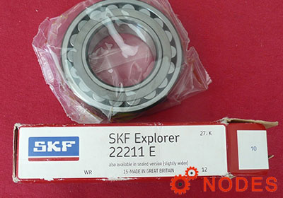 SKF 22211E spherical roller bearings