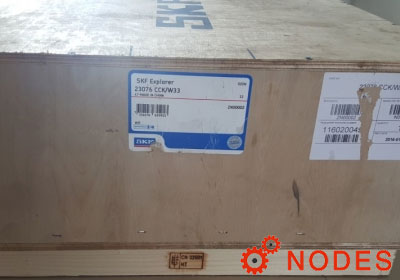 SKF 23076CCK/W33 spherical roller bearings