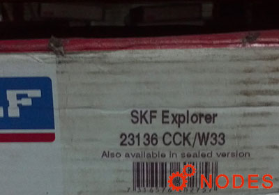SKF 23136CCK/C3W33 spherical roller bearings