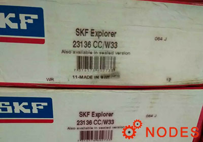 SKF 23136CC/W33 spherical roller bearings