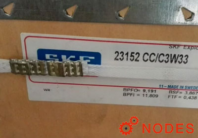 SKF 23152CC/C3W33 spherical roller bearings