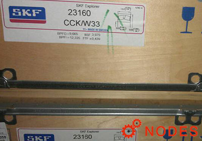 SKF 23160CCK/W33 spherical roller bearings