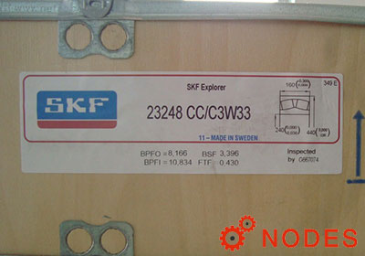 SKF 23248CC/C3W33 spherical roller bearings