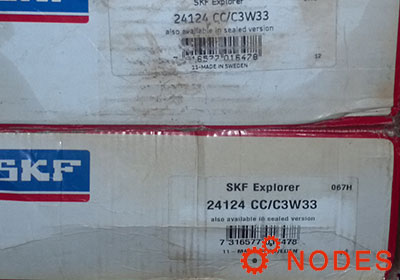 SKF 24124CC/C3W33 spherical roller bearings