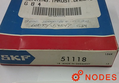 SKF 51118 thrust bearings