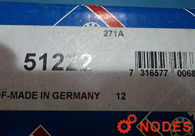 SKF 51222 thrust bearings