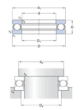 skf needle roller thrust bearing catalogue pdf