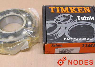 TIMKEN Fafnir 315K Deep groove ball bearings | 75x160x37mm
