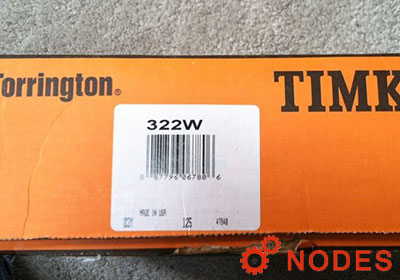 TIMKEN Fafnir 322W Maximum Capacity Ball Bearings | 110x240x