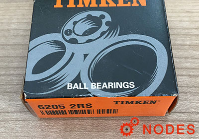 TIMKEN 6205-2RS Deep Groove Ball Bearings | 25x52x15mm