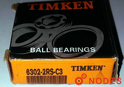 TIMKEN 6302-2RS-C3 Deep Groove Ball Bearings | 15x42x13mm