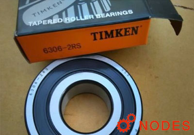 TIMKEN 6306-2RS Deep Groove Ball Bearings | 30x72x19mm