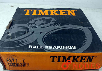 TIMKEN 6317-ZZ Deep Groove Ball Bearings | 85x180x41mm