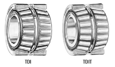 TDI and TDIT type tapered roller bearings
