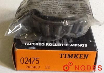 TIMKEN 02475-02420A tapered roller bearings