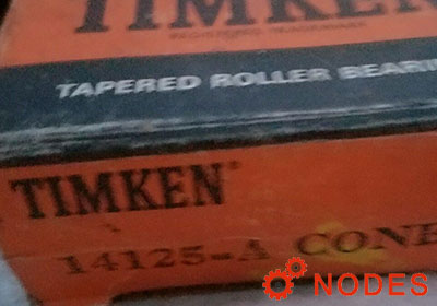 TIMKEN 14125A-14284 tapered roller bearings