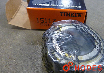 TIMKEN 15117-15250RB tapered roller bearings