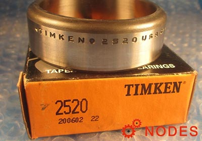 TIMKEN 2580A-2520 tapered roller bearings