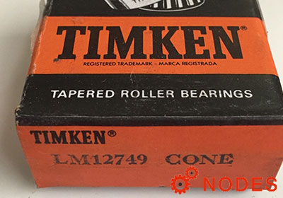 TIMKEN LM12749-LM12710 tapered roller bearings